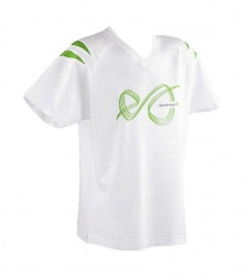 White T-shirt with Eesti Energia logo