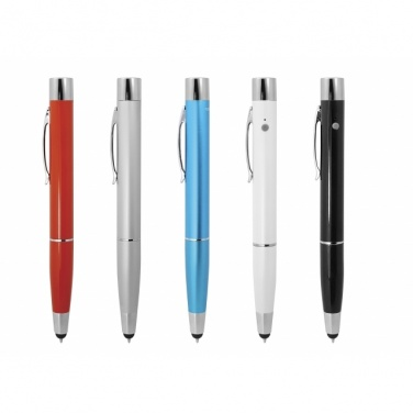 Logotrade promotional item picture of: Power Pen 3in1  800mAh	color red