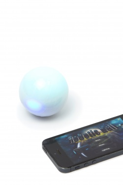 Logotrade promotional giveaway picture of: Robotic magic ball, white