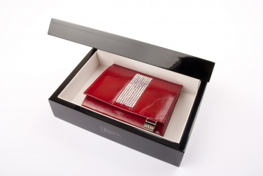 Logo trade promotional merchandise picture of: Ladies wallet with Swarovski crystals CV 110