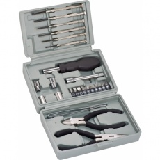 25-parts tool set 'Managua'  color grey