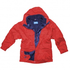 3:1 jacket, red