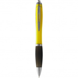 Logo trade promotional item photo of: Nash ballpoint pen, yellow