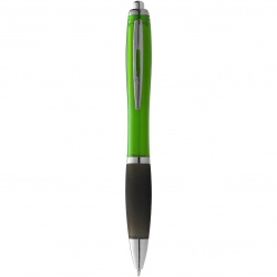 Logo trade promotional giveaways picture of: Nash ballpoint pen, light green