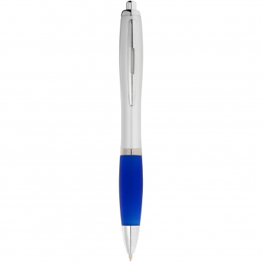 Logo trade advertising products picture of: Nash ballpoint pen, blue