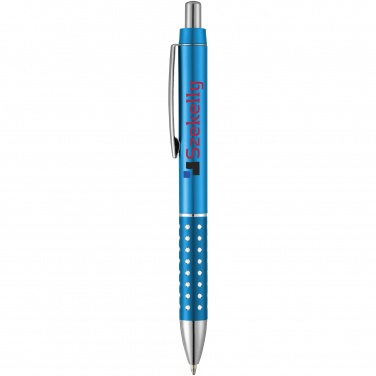 Logo trade promotional items picture of: Bling ballpoint pen, light blue