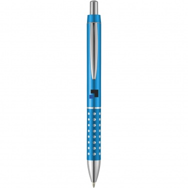 Logotrade promotional products photo of: Bling ballpoint pen, light blue