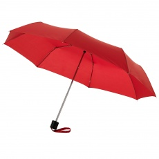 21,5'' 3-section Umbrella, red