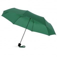 21,5'' Ida 3-section umbrella, green