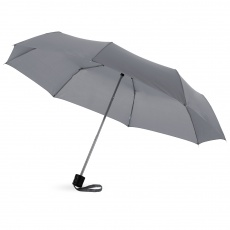 21,5'' Ida 3-section umbrella, grey