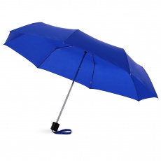 21,5'' Ida 3-section umbrella, dark blue