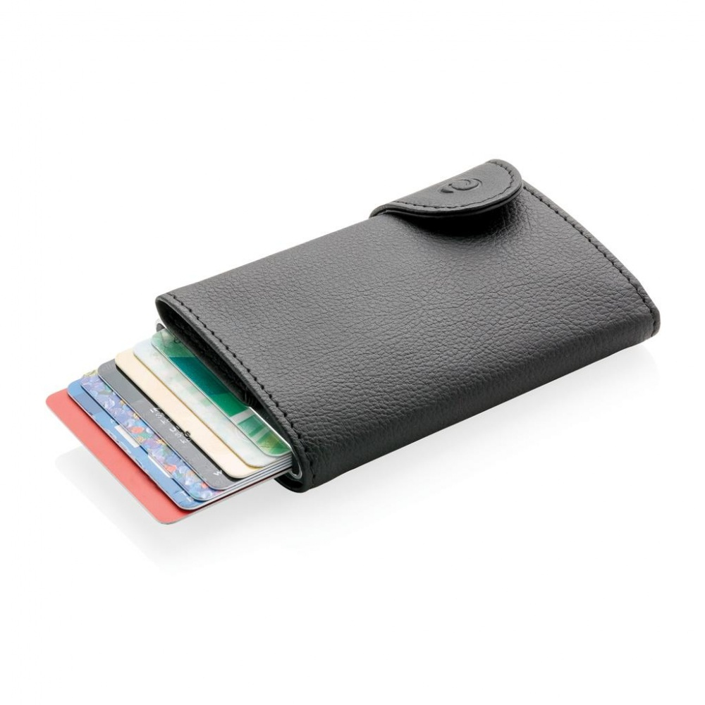 Logotrade corporate gift picture of: 1. C-Secure RFID card holder & wallet, black