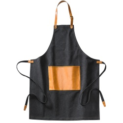 Logo trade advertising products image of: Asado Apron Black