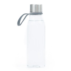 Logo trade promotional giveaway photo of: Water bottle Lean, transparent