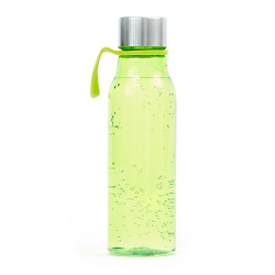 Logo trade promotional giveaway photo of: Water bottle Lean, green
