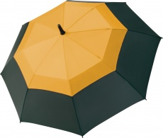 #88 Sunny umbrella Fibermatic Vent, yellow-black