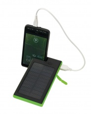 Powerbank, Helios, black/green