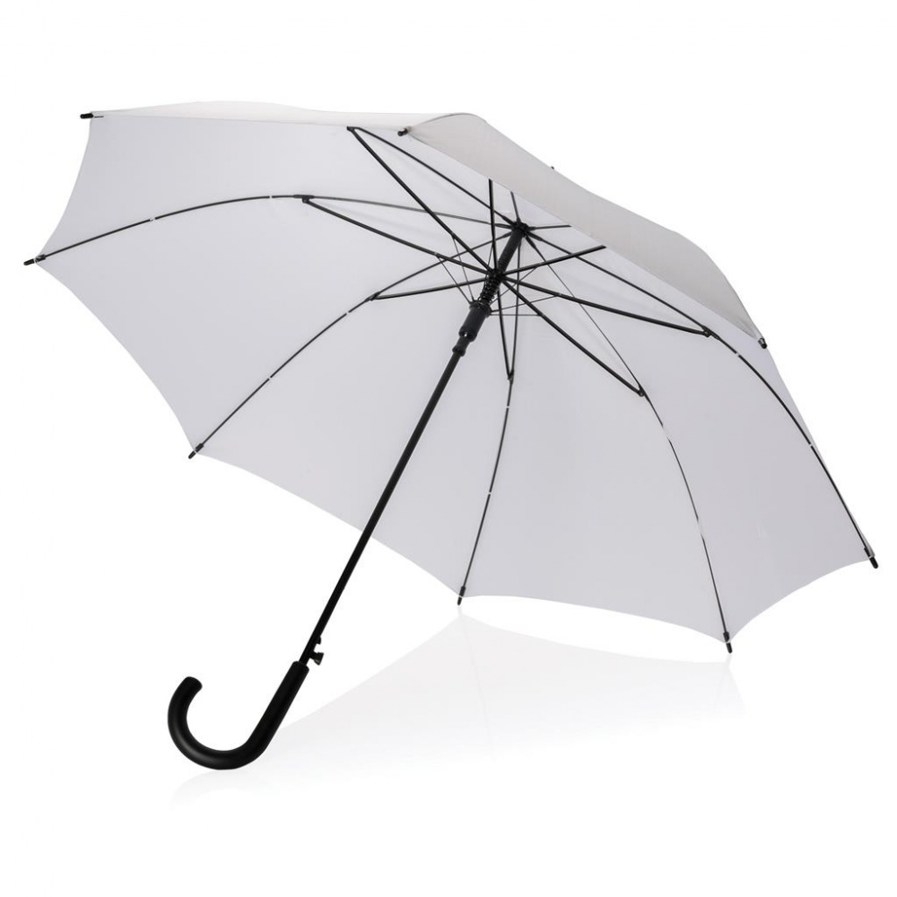 "Logo trade promotional product photo of: 23"" XD automatic umbrella dia. 102 cm, white"
