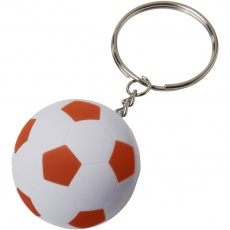 #2 Striker football key chain, orange