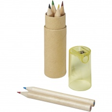 7 piece pencil set, yellow