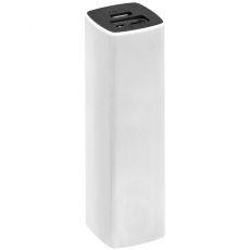 2200 mAh Powerbank with case, White