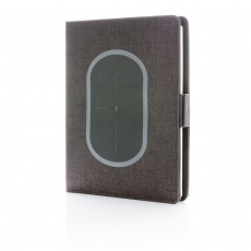 Air wireless charging notebook cover A5, black