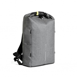 Logotrade advertising products photo of: Bobby Urban Lite anti-theft backpack, grey