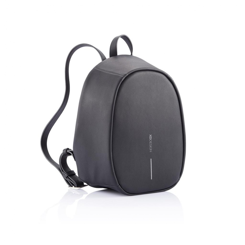 Logo trade promotional products image of: Special offer: Bobby Elle anti-theft backpack, black