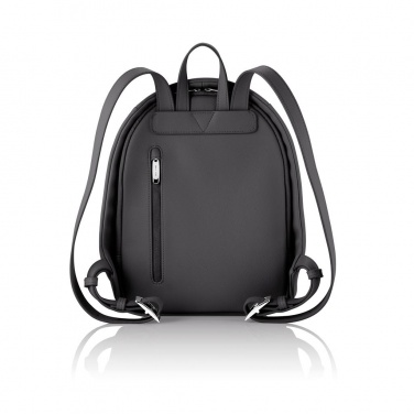Logo trade promotional giveaways image of: Special offer: Bobby Elle anti-theft backpack, black