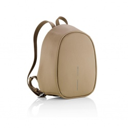 Logotrade promotional product image of: Bobby Elle anti-theft backpack, brown