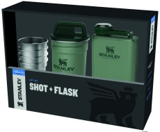 Stanley Adventure pre-party hot + flask kinkekomplekt, green