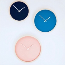 Wooden wall clock L