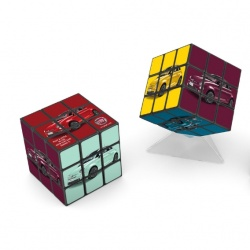 Logo trade corporate gifts picture of: 3D Rubik's Cube, 3x3