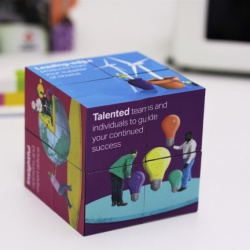 Logo trade advertising products image of: Magic Cube, 7 cm