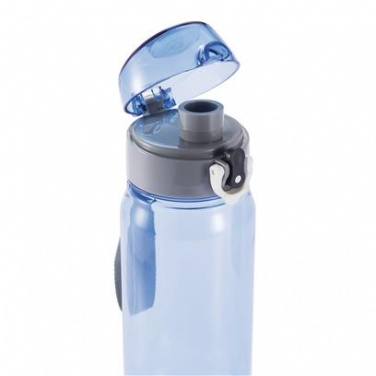Logotrade promotional gift picture of: Tritan water bottle 600 ml, blue/grey