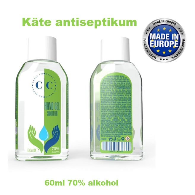 Logo trade promotional items picture of: Hand sanitizer, 60 ml