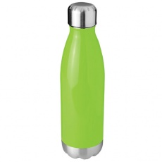 Arsenal 510 ml vacuum insulated sport bottle, green