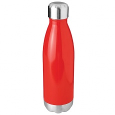 Arsenal 510 ml vacuum insulated sport bottle, red