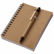 A6 ECO Notepad 'Keystone'  color brown