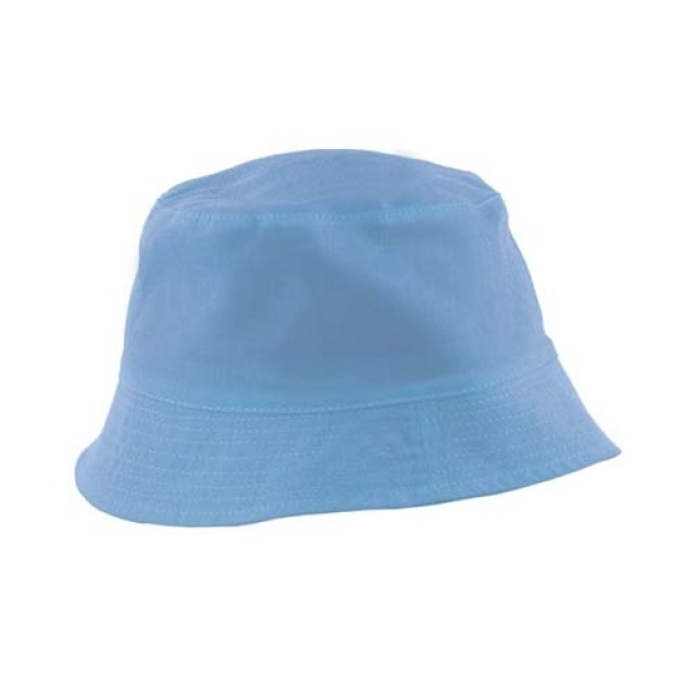 Logotrade mainoslahja tuotekuva: Children's bob hat  color light blue