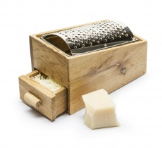 Sagaform oak cheese grating box