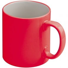 Ceramic cup LISSABON  color red