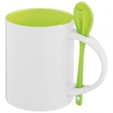 Ceramic cup SAVANNAH  color light green