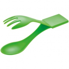 Camping cutlery Cesena  color light green