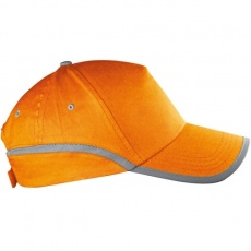 5-panel reflective cap 'Dallas'  color orange
