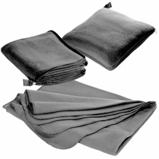 2in1 fleece blanket/pillow Radcliff  grey