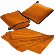 2in1 fleece blanket/pillow Radcliff  orange
