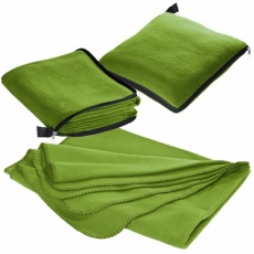 2in1 fleece blanket/pillow Radcliff  light green
