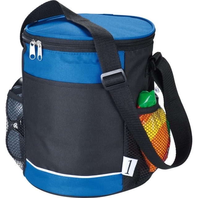 : Can shaped cooler bag 'Caldera'  color blue