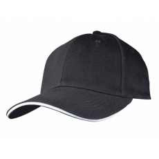 6-panel cap 'San Francisco'  color black